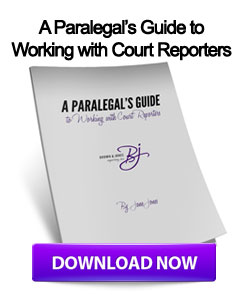 Download A Paralegals Guide to Working with Court Reporters