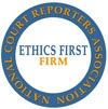 NCRA Ethics First Logo