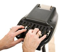 Court reporters are essential elements of the legal process as they must transcribe depositions.