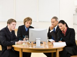 More companies are using video conferencing to interview job candidates.