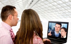 Videoconferencing has become a popular form of communication.